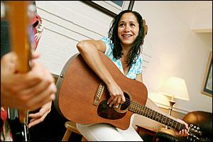 Bridgette Michaels of Annapolis has been a busy childrens musician. By Arianne Teeple For The Capital